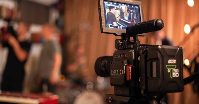 optimize video - video camera set up